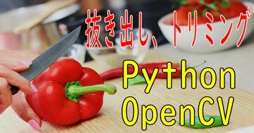 画像 切り出し、トリミング - OpenCV、Python徹底解説